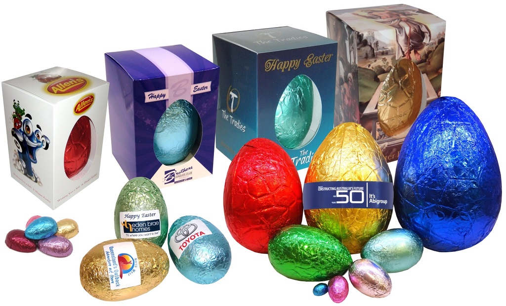 Easter eggs groovychocolate australian made personalised chocolates negle Images